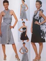 Burda Sewing Pattern 7352 Misses Ladies Dress Size 6-18 New - $13.41