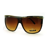 Square Flat Top Oversized Sunglasses Women's Fashion Eyewear - $7.95
