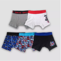 Boys' Spider-Man 5-Pack Boxer Brief Underwear, Size 4 (New Without Tags) - $11.24