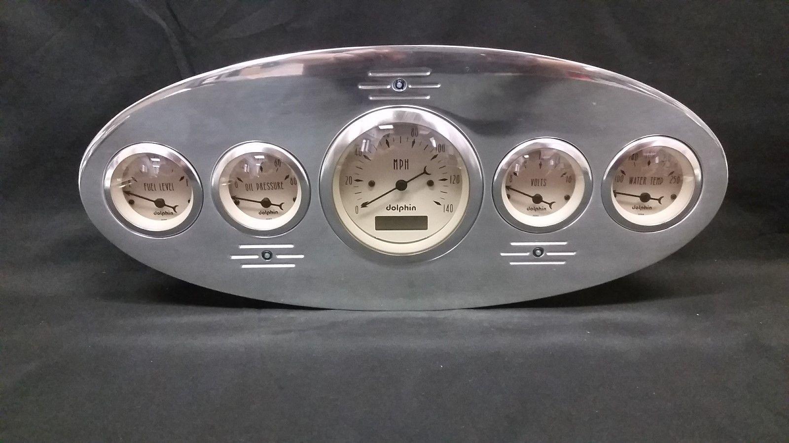 1934 FORD TRUCK GAUGE CLUSTER METRIC