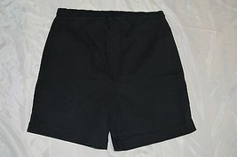 35464d1a04dc3 InDueTime Maternity Shorts ~ Navy Blue ~ Sz Small ~ Above Knee ~ Cotton/.