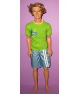 Barbie Ken Fashion Fever Boy Era Rooted Hair Surf's Up Beach Glam Retire... - $15.00