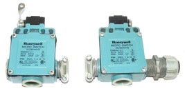 LOT OF 2 HONEYWELL MICRO SWITCH EN60947-5-1 LIMIT SWITCHS GLEB24A1B