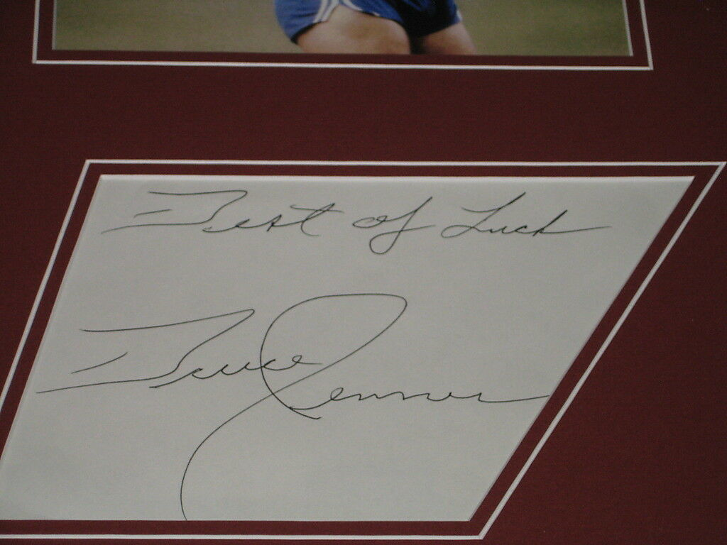 Bruce Jenner Signed Framed 16x20 Photo Display JSA 1976 Olympics image 3