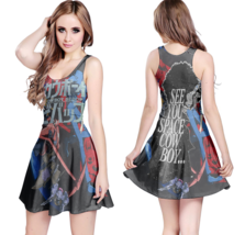 cowboy bebop Reversible Women Dresses - $21.80+