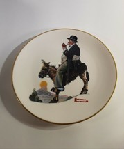 Norman Rockwell The Tourist Gorham China Collector Plate 1981 - $5.00