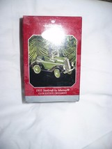 Hallmark Keepsake Ornament  1935 Steelcraft by Murray 1998 Die Cast Gree... - $10.88