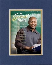 A Good Man . . . 8 x 10 Inches Biblical/Religious Verses set in Double B... - $11.14