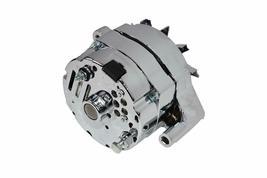 SB Ford 65-89 Mechanical Fuel Pump Two Valve M1G Style Alternator 110 Amp Chrome image 6