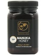 Watson & Son Premium Manuka Honey 20+ Certified Manuka, 17.6oz Bottle (5... - $134.91