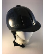 Troxel Legacy Smoke Low Profile Equestrian All Purpose Helmet Small w/ G... - $44.54
