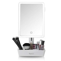 Fancii LED Lighted Large Vanity Makeup Mirror with 10X Magnifying Mirror... - $64.41
