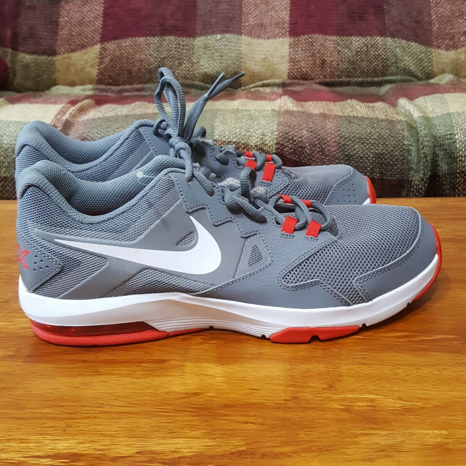 Nike Air Crusher 2 Training Cool Grey Red sz 11.5 719933-009 UK 10.5 EUR 45.5