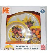 NEW Despicable Me 3 Minions Baby Toddler, Kid Dish Set, Plate Bowl Cup F... - $9.89