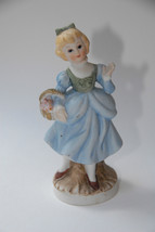 ORIGINAL ARNART CREATION REPUBLIC CHINA PORCELAIN BISQUE FIGURINE GIRL V... - $14.99