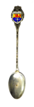 "800 Fine Silver REU Darmstadt Germany Crest Seal Demitasse Spoon 3-7/8"" - $19.79"