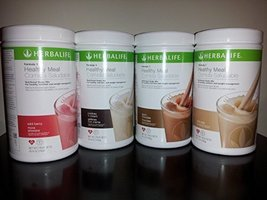Herbalife Formula 1 Combo 4 Pack Instant Shake Energy Drink Healthy Diet... - $159.99