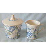 Figgjo Flint Norway Lotte Sugar Bowl and Mini Creamer - $35.53