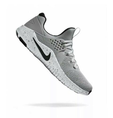 Nike Free TR V8 Training Athetic Shoes Grey White AH9395 001 Mens Size 11 NEW