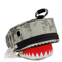 Korean style trend shark men and women small waterproof phone bag - $15.00