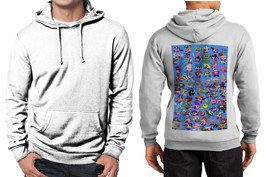 69 Amazing Kirby Copy Abilities Limited Classic Hoodie Men White - $39.99