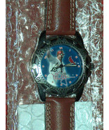 NOS 1998 Mark McGwire St Louis Cardinals HOME RUN HERO Leather Band Wris... - $24.73