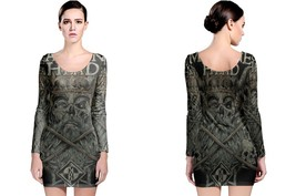 Machine Head Long Sleeve Bodycon Dress - $28.99+