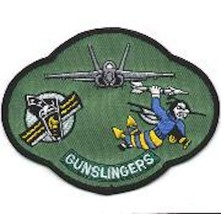 """5"""" Usaf Air Force VFA-105 Party Gunslingers Nas Oc EAN A Embroidered Jacket Patch - $18.99"""