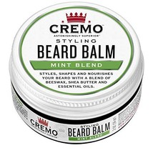 Cremo Styling Beard Balm, Mint Blend -- Nourishes, Shapes And Moisturizes All Le image 1