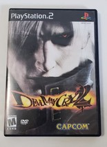 DEVIL MAY CRY 2 - PlayStation 2 PS2 BL Black Label Video Game CIB Complete - $10.84