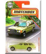 Matchbox - Mercedes-Benz W123 Wagon: '19 MBX Road Trip #9/20 - #3/100 *Green* - $3.50