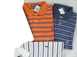 NWT! NEW! Polo Ralph Lauren Striped Polo Shirt! S M L XL (See Available ... - $39.99