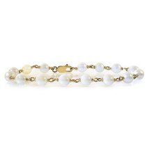7 mm Freshwater Pearl Bracelet 14K Yellow Gold - $266.31