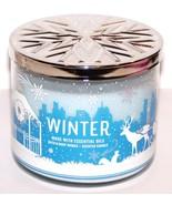 WONDERFUL BATH & BODY WORKS WINTER 14.5 OZ 3-WICK JAR CANDLE - $20.19