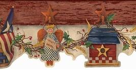 Patriotic Liberty Angel Wallpaper Border Chesapeake AAI08123B - $15.99