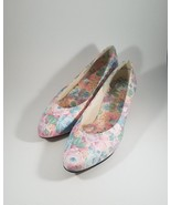 Vintage Selby USA Made Flora Floral Flats Size 7 Pastel Floral Shoes Flo... - $35.34