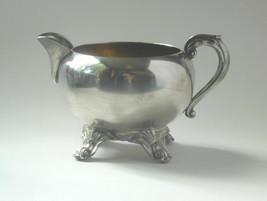 F.B. ROGERS SILVER PLATE CREAMER (1224 SERIES TEA COFFEE SET) **FREE SHI... - $35.00