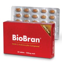 BioBran - MGN 3 - 250mg - 50 Tablets 100% Natural - $76.30