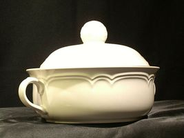 Stoneware Cumberland Mayblossom Tureen with lid by Hearthside AA-192035-G Vintag image 8