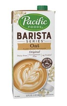 Pacific Natural Foods Oat Milk Barista Series-Non-Dairy Gluten Free- 32 ... - $46.39