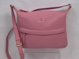 Kate Spade Starla Grant Park Pebble Leather Crossbody Bag Rose Frost New - ₨9,454.51 INR