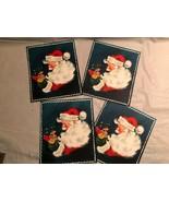 4 Vintage Hallmark Christmas Cards Unused Santa with Toys - $7.99