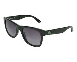 Lacoste Men's Foldable Sunglasses L778S 001 Black Grey Gradient L778 New 52mm - $163.30