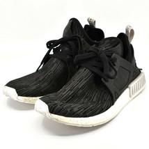 adidas Women's adidas NMD XR1 PK Primeknit Utility Black Gltich Shoes Size 10 image 2