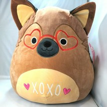 "KellyToy Squishmallow Marlo The German Shepherd 16"" Stuffed Animal 2021 NWT - $45.53"
