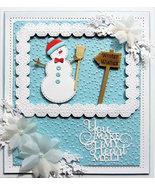 Creative Expressions Sue Wilson Dies Build A Snowman, 18-Piece CED3142 - $13.56