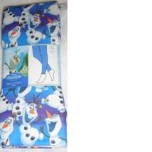 Frozen Olaf Girls Leggings 12 - 14 Blue White NEW Disney - $10.00