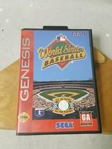 World Series Baseball 98 (Sega Genesis, 1997) (Authentic USA) Complete I... - $22.27