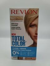 Revlon Total Color Hair Dye 100 Extra Light Natural Blonde, 100% Gray Cover - $8.07