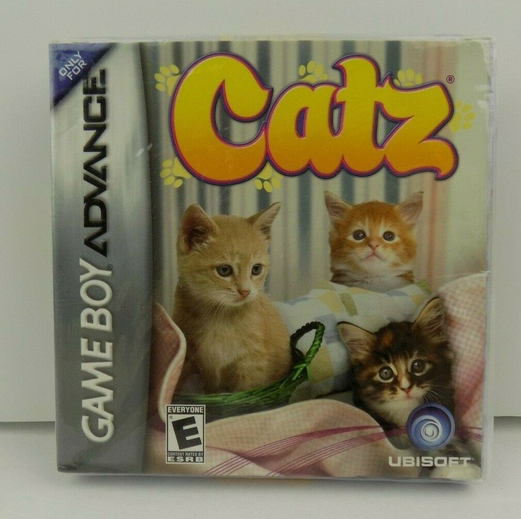 Game Boy Advance Catz Video Game Nintendo DS GBA Sealed In Dented Package NOS
